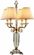 Lampe de chevet Lampe de table en cristal