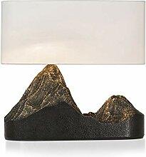 Lampe de chevet Lampe de table Montagne Type