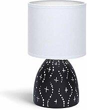 Lampe de Chevet, Lampe en Céramique, Corps Design