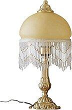 Lampe de chevet Lampes de table rétro Cuivre