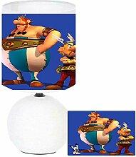 Lampe de chevet LES GAULOIS création artisanale