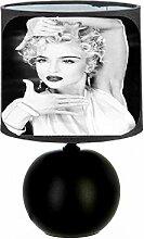 Lampe de chevet Madonna - création artisanale N°