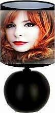 Lampe de chevet Mylène Farmer - création