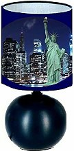 Lampe de chevet NEW YORK STATUE DE LA