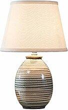 Lampe de chevet Nouvelle table en céramique
