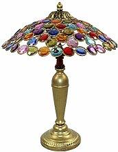 Lampe de chevet Rétro européenne Lampe de table