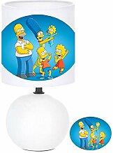 Lampe de chevet SIMPSONS création artisanale N° 4