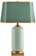 Lampe de chevet Table de salle céramique Lampe