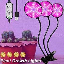 Lampe de croissance USB 5V, éclairage à spectre