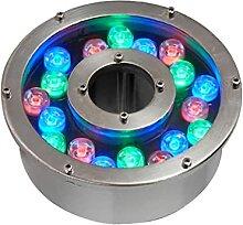 Lampe de Fontaine Lumineuse à LED Submersible