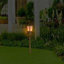 Lampe de jardin 1pc Decor de flamme Décor