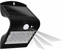 Lampe de jardin solaire avec détecteur de