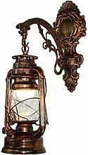 Lampe de kérosène LED Vintage Applique Barn
