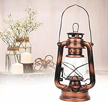 Lampe de kérosène, verre vintage Kérosène