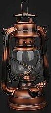 Lampe de kérosène Vintage, fer à repasser +