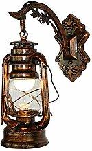Lampe de kérosène Vintage LED Applique Rétro
