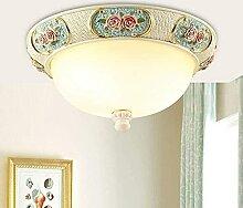 Lampe de lumière Style européen Plafonnier