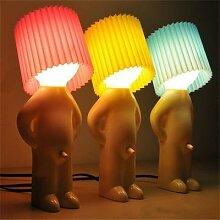 Lampe de nuit créative m. P, petit bonhomme