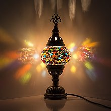 Lampe de nuit en mosaïque turque/marocaine -