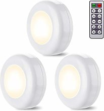 Lampe de Placard/Armoire, 3 Pack Lampe Led Sans