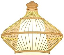 Lampe De Plafond En Bambou D'art Japonais