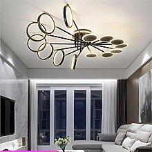 Lampe De Plafond Métallique De Mastic Rond Doré