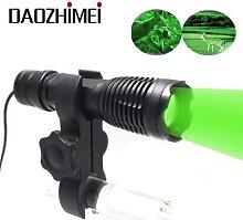 Lampe de poche LED 1000lm, Zoom extensible,