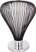 Lampe de salon design couleur noir