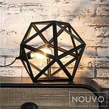 Lampe de salon noire design PIOR