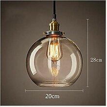 Lampe de table à la chambre Café simple lustre