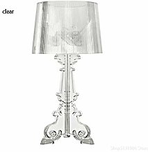 Lampe de table à la chambre Effacer acrylique