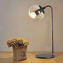 Lampe De Table À LED Simple Boule De Style