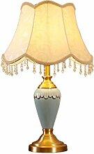Lampe de table Abat-jour élégant, lampe de table