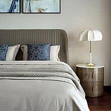 Lampe de Table Abat-Jour en Tissu pétale Moderne