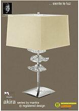 Lampe de Table Akira 3 Ampoules E27, laiton