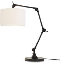 Lampe de table Amsterdam / Abat-jour tissu - H 100