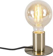 Lampe de table Art Déco or - Facil