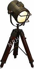 Lampe de table avec trépied réglable pour