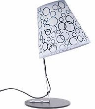 Lampe de table chambre à coucher interrupteur
