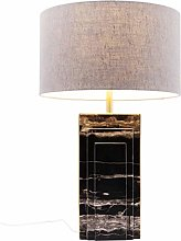 Lampe de table Charleston marbre noir 69 cm Kare