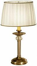 Lampe de table classique ASCOT laiton antique 1