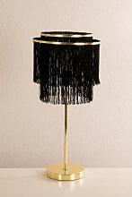 Lampe de table Cleo Noir Sklum