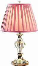 Lampe de table Crystal Table Lampe Moderne Salon