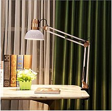 Lampe de table de bureau rétro avec pince Swing