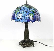 Lampe de table de chevet Abat-jour coloré lampe
