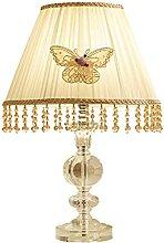 Lampe de table de chevet Lampe de table Crystal