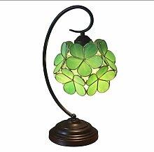 Lampe de table de pétale créative de 8 pouces,