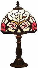 Lampe De Table De Style Tiffany De 8 Pouces