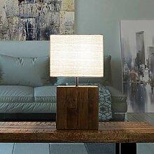 Lampe de table design Lamphun en bois flotté -