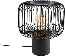 Lampe de table design noire 32 cm - Baya